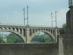 Manayunk (9) (madskills421) Tags: city bridge building love philadelphia statue museum river downtown pennsylvania south north pa philly manayunk eastfalls phila brotherly