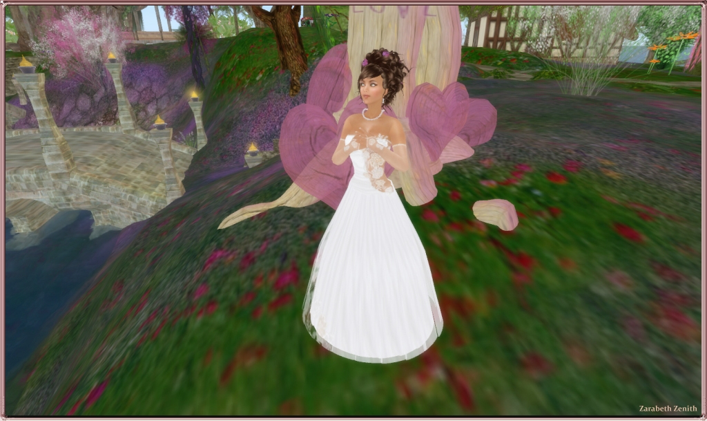 Coconut Ice ~ Belle Reve Wedding Gown (Champagne)