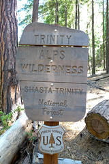 Entering the Trinity Alps Wilderness Photo