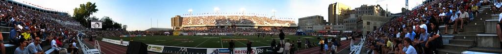 Stade Percival-Molson - panorama