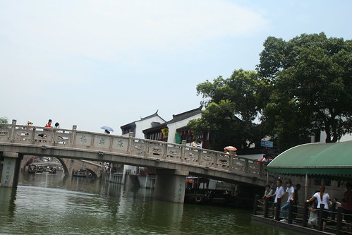 2010-07-19 - Qibao Ancient Town - 09 - Canal bridge