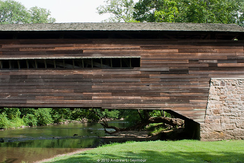 Rapps Covered Bridge (Side Detail) 028
