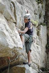 _DSC8970 (HYLA 2009) Tags: climb  taiwan climbing ntu taipei       longdong northeas traditionalclimbing 510b  tcoastal    xw rockclimbingtaiwan k -u}h-   tk}