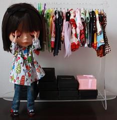 Porque nunca sabemos o que vestir? :) (Mari Assmann) Tags: closet toy doll megan plastic blythe   boneca custom takara ebony jouet plstico poupe kitana rbl pinkballoon 450d primadollyebony pd2e sabrinaeras crisshida canonxsi hellokika tilima mariatherezamachado