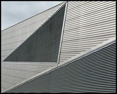 Chill Factor e (davekpcv) Tags: ski building lines architecture manchester triangle angles indoor slope triangular chillfactore yahoo:yourpictures=angles
