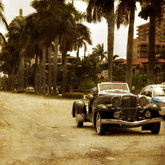 Driving Las Olas Boulevard in texture (Nancy Violeta Velez) Tags: city texture car palms geotagged photography interesting flickr poem driving boulevard fortlauderdale oldcar avenue marvelous clerk walkingaround pabloneruda colector nikond5000 bocaccino drivinglasolasboulevardintexture