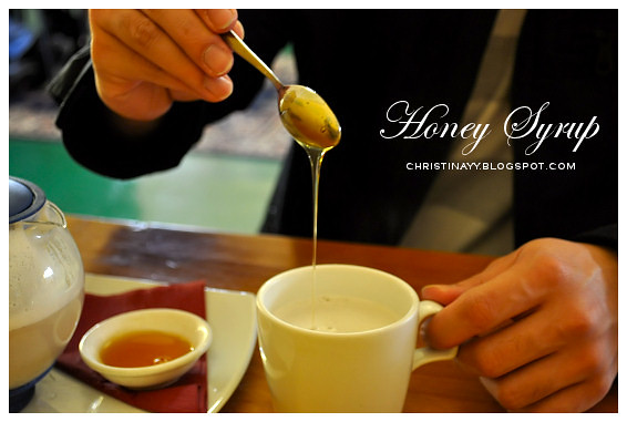 Engine Room Cafe Toowoomba: Honey Syrup