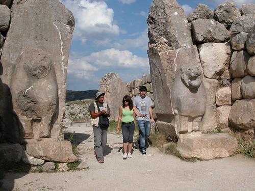 DSCN0919 Hattusas, porte des lions