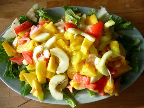 mango salad i