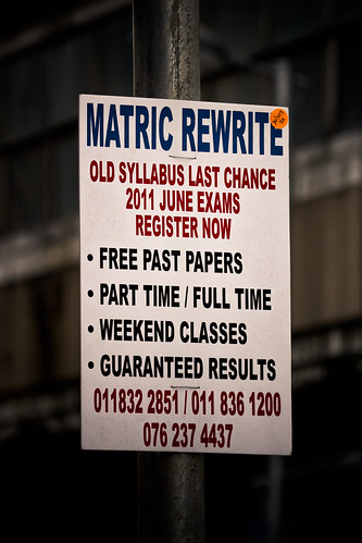 Jozi walkabout - Matric Rewrite