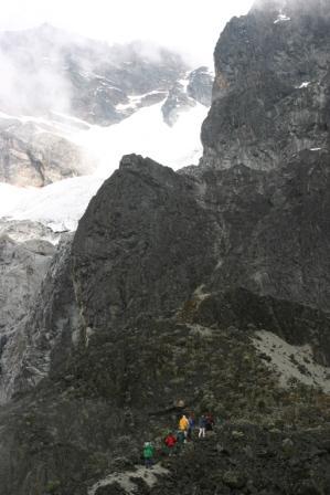 rwenzori_last stretch to glacier