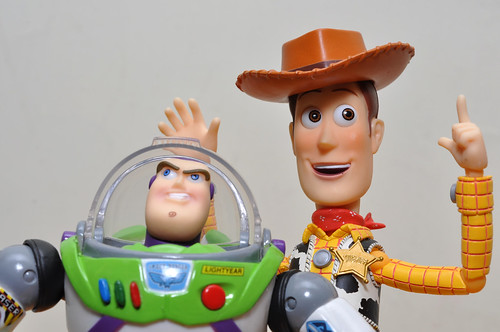 woody and buzz. Sci-fi Revoltech Woody amp; Buzz
