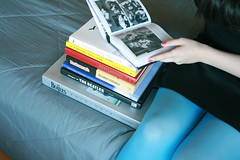 Photos for life (Honey Pie!) Tags: books tights ameliepoulain livros thebeatle