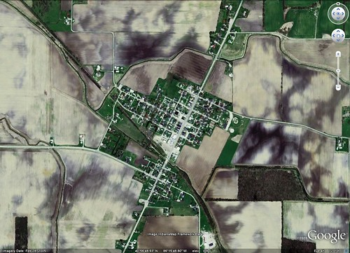 Fulton, IN (via Google Earth)