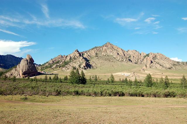 Terelj National Park 特勒吉國家公園