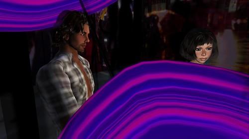 "Xavier and Raftwet at Nishi Mip's ""Umbrellas"""