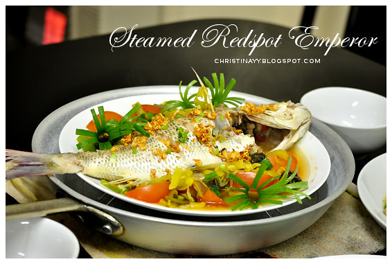 Home-Cooking: Steamed Redspot Emperor