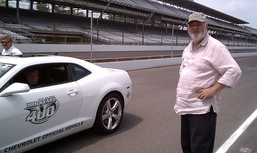 Rob Reiner about to take a Hot Lap