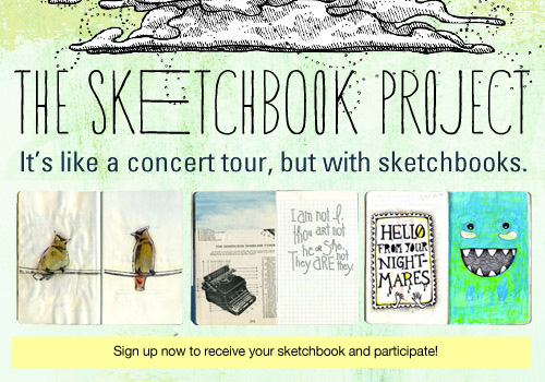 "The wonderful ""The Sketchbook Project 2011"""