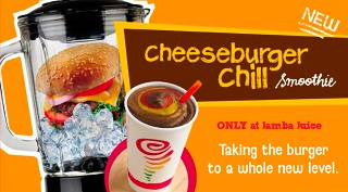 Jamba Juice Cheeseburger Chill Smoothie