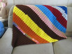 Corner to Corner scrap afghan (crochetgal) Tags: kids children fun crochet knit blanket afghan quilting etsy volunteer projectlinus