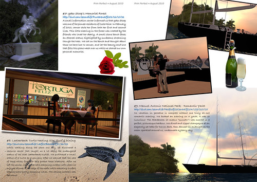 Prim Perfect Issue 27 - Summer 2010: Inside page - 10 Things to do in Costa Rica