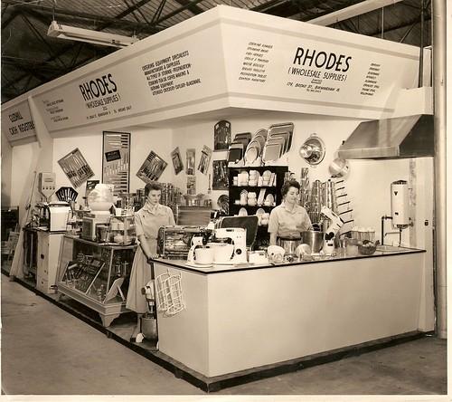 Rhodes (Wholesale Supplies) exhibiting at Bingley Hall, Birmingham