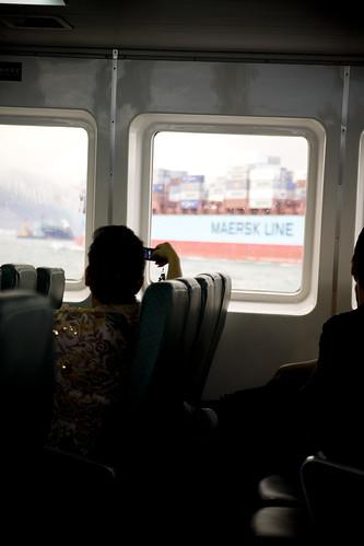Maersk, big ship