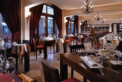 Interior del Restaurante Es Vi - (c) starwoodhotels.com