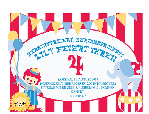 Flickriver most interesting photos tagged with printablestationery circus birthday invitation stopboris Gallery