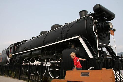 Steam Engine in Jasper