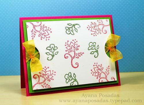 Glitter Floral Vines (2)