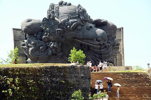 Garuda at the Mandala Garuda Wisnu Kencana cultural park, Bali