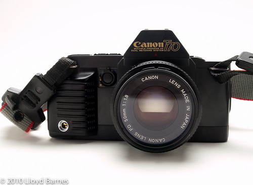 Canon T70 35mm SLR Camera
