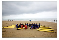 Surf School at Watergate Bay 8 (Mark-Crossfield) Tags: pictures uk greatbritain sea england beach coast photo sand watergatebay cornwall surf waves image photos sandy picture wave images surfing surfschool beaches watergate sandybeach bigwave photosof picturesof nearnewquay imagesof watergatebayhotel markcrossfield