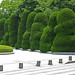 Memorial hedges at Hiroshima Peace Memorial Park