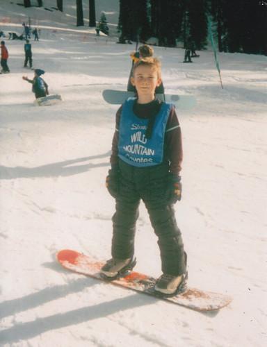 Snowboarding 3rd grade