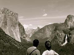Couple at Tunnel View