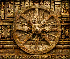 KONARK SUN TEMPLE (manumint-[BUSY]) Tags: travel horse india beautiful wheel temple stones unesco worldheritagesite sungod orissa chariot surya eastcoast puri konark bayofbengal konarksuntemple incrediblesight hinduancienttemple exquisitestonecarvings wonderofindia