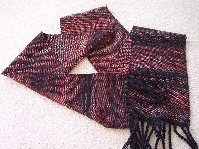 First woven scarf