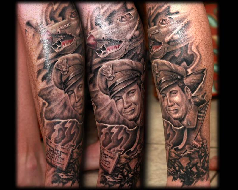 The world 39 s best photos by plaastikneedle flickr hive mind for Iwo jima tattoo