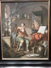 Hendrick Heerschop - The Alchemist's Experiment Takes Fire