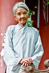 The Wishing Nun (HalfofJess) Tags: southeastasia buddhism nun backpacking oldwoman wishing nhatrang makeawish travelphotography