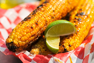 Corn With Chili Lime Butter