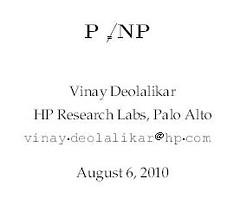Pues igual resulta que P ≠ NP…