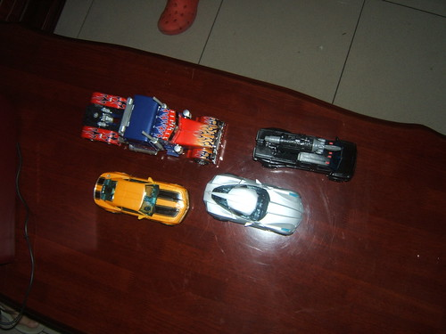 Car mode: HA Sideswipe - LC Prime - HA Bumblebee - VC Ironhide