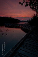 Sunset at Luonteri (Emilia_m85) Tags: filters cokin d80