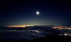 [フリー画像] 自然・風景, 空, 夜空, 月, 日本, 201009010100