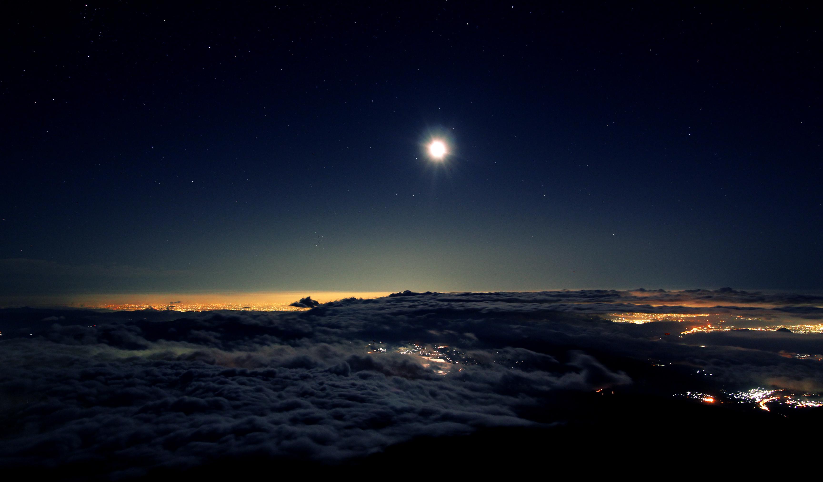 original landscape moon night - photo #21