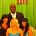 the girls with John Salley